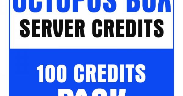 Octopus Box 100 Credits Pack