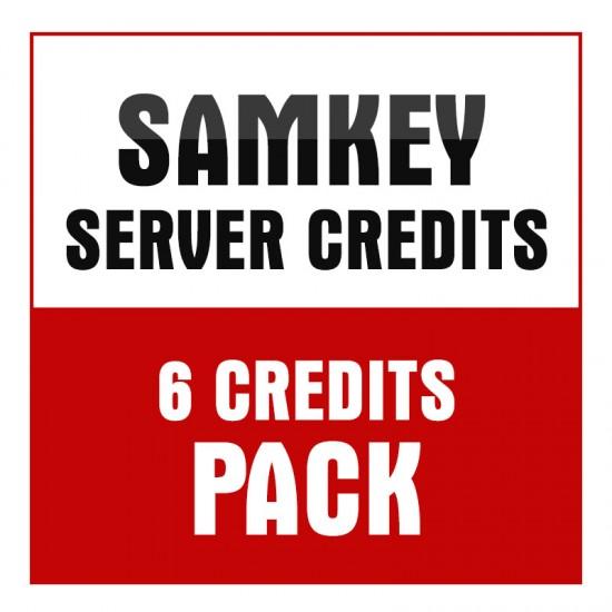 Samkey Server 6 Credits Pack
